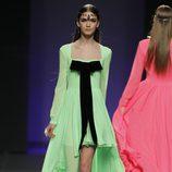 Vestido verde de la colección otoño/invierno 2012/2013 de María Escoté