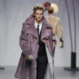 Abrigo de caballero de la colección otoño/invierno 2012/2013 de Miguel Marinero