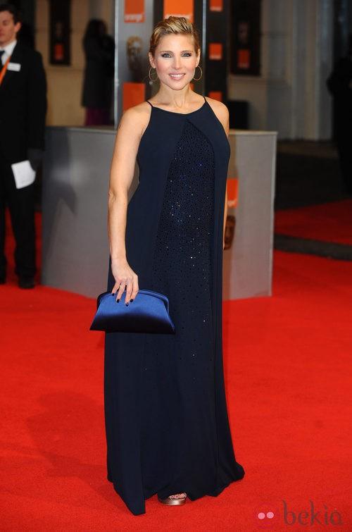 Elsa Pataky con un vestido Gucci en los Bafta 2012