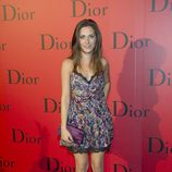 María León con vestido de estampado floral de Dior