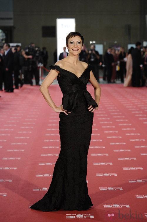 Eva Hache de Hannibal Laguna en los Premios Goya 2012