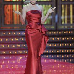 Looks de Eva Hache durante los Premios Goya 2012