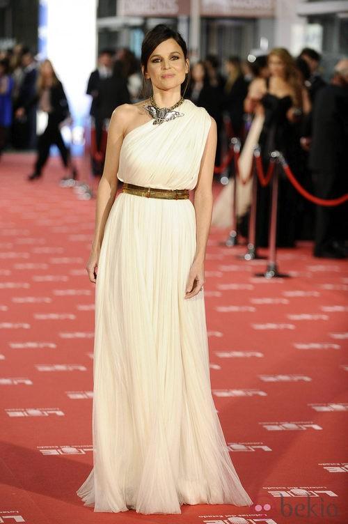 Elena Anaya con vestido de Lanvin en los Goya 2012