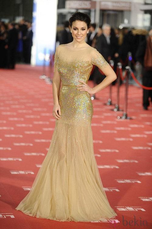 Blanca Suárez con vestido de Blumarine en los Goya 2012
