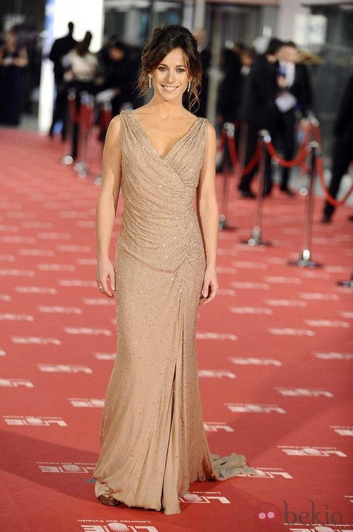 Marta Etura con vestido de Gucci en los Goya 2012