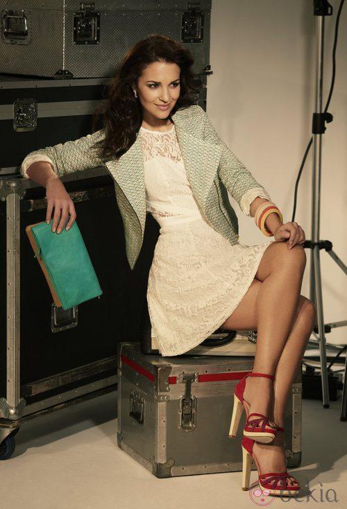 Paula Echevarría para Blanco primavera/verano 2012