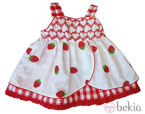 Vestido 'nerea' de la firma Pan Con Chocolate de la colección primavera/verano 2012