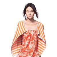 Vestido estampado de la nueva colección primavera/verano de Benetton