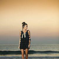 Vestido negro de la nueva colección de primavera/verano 2012 de Indiwoman