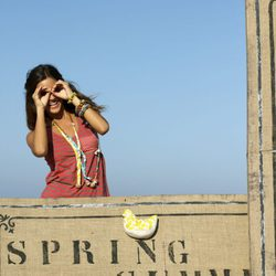 Malena Costa imagen de la nueva colección primavera/verano 2012 de Indiwoman