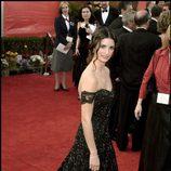 Penélope Cruz con vestido de Ralph Lauren en la gala de los Oscar del año 2001