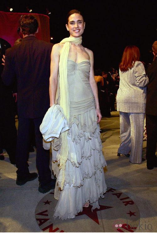La actriz Jennifer Connelly en los Oscar de 2002