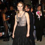 La actriz Gwyneth Paltrow con transparencias en la gala de los Oscar