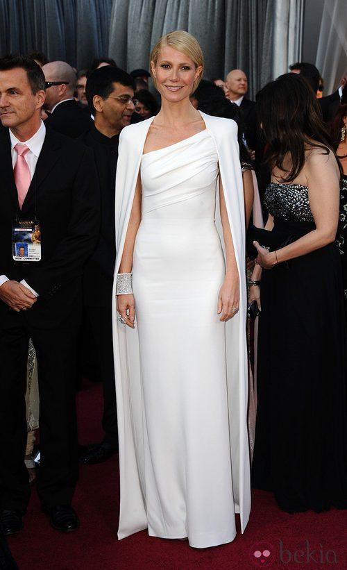 Gwyneth Paltrow con un diseño de Tom Ford para los Oscar de 2012