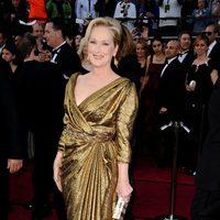 Meryl Streep vistió de Lanvin en los Oscar de 2012