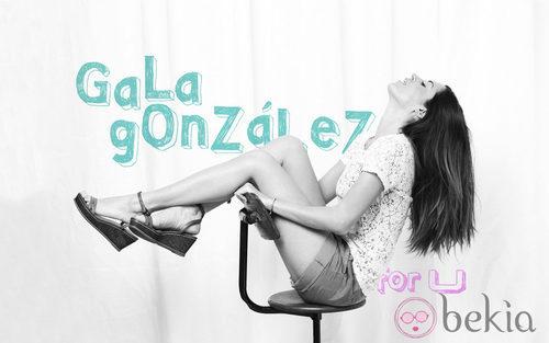 Gala González imagen de la Línea U de Adolfo Domínguez