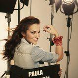 Paula Echevarría con camisa vaquera para Suite Blanco
