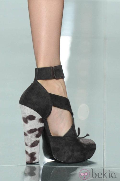 Zapatos de Dior en la Semana de la Moda de París