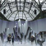 Escenario del Grand Palais para el desfile otoño/invierno 2012/2013 de Chanel
