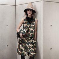 Vestido con estampados verdes de Marni para H&M