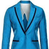 Blazer azul de la nueva colección H&M Conscious