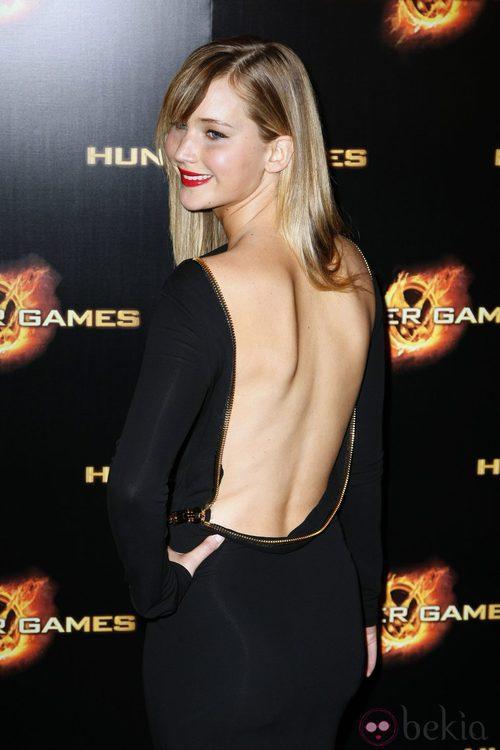 Jennifer Lawrence vestida de Tom Ford