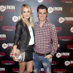 Alba Carrillo con un look rockero en el concierto de música británica en Madrid