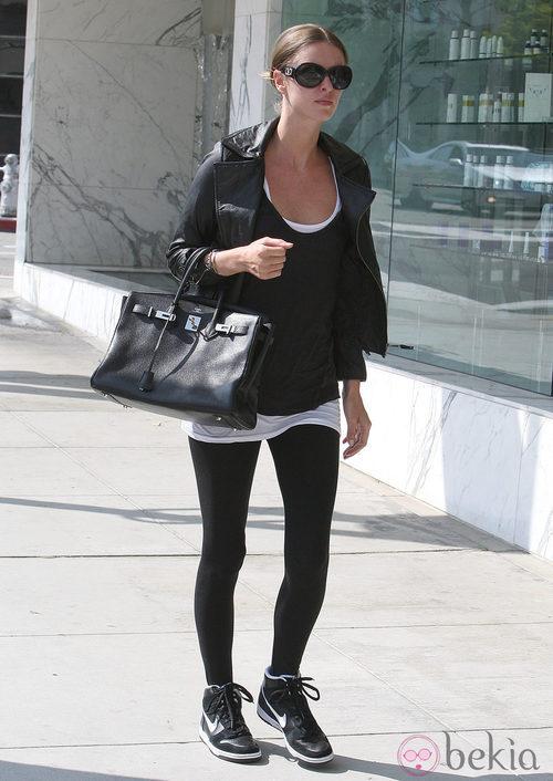 Nicky Hilton se acompaña de un Birkin para ir al gimnasio