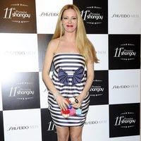 Paula Vázquez con vestido de Dolores Promesas en los Premios Shangay 2012