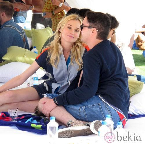 Diane Kruger en el Festival de Coachella 2012