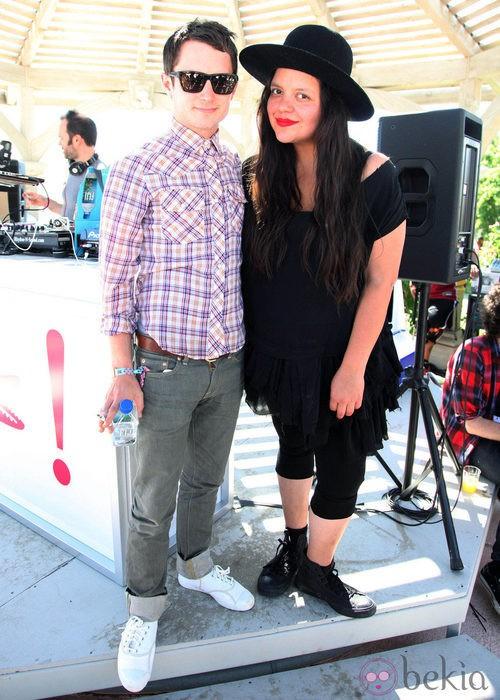 Elijah Wood ejerció de DJ en el Festival de Coachella 2012