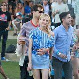 Diane Kruger y Joshua Jackson en Coachella 2012