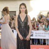 Hiba Abouk con un vestido de Vicky Martín Berrocal en la apertura del Festiva de Málaga 2012