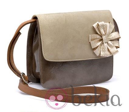Bolso en tonos marrones de la nueva colección primavera/verano 2012 de BF Colección Europa