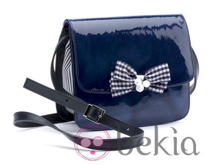 Bolso azul marino de BF Colección Europa primavera/verano 2012