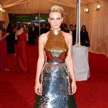 Carey Mulligan de Prada en la gala del MET 2012