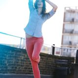 Nueva colección primavera/verano 2012 Ankle Skinny de Levi's en rojo