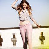 Nueva colección primavera/verano 2012 Ankle Skinny de Levi's en rosa