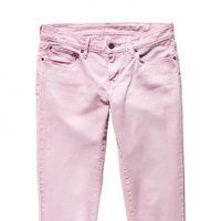Jeans en rosa de la nueva colección primavera/verano 2012 Ankle Skinny de Levi's