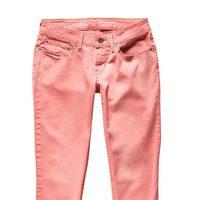 Jeans em coral de la nueva colección primavera/verano 2012 Ankle Skinny de Levi's