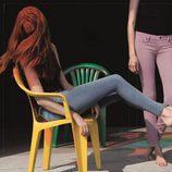 Jeans de colores de la nueva colección primavera/verano 2012 Ankle Skinny de Levi's