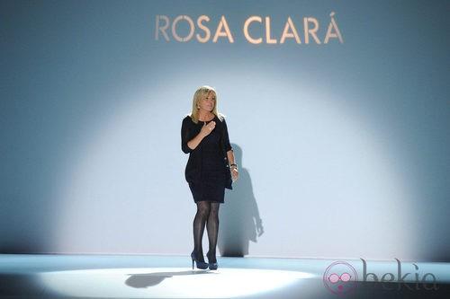 Rosa Clará en la pasarela Gaudí Novias 2012