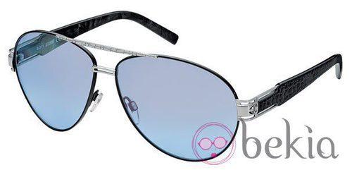 Gafas de sol de Just Cavalli primavera/verano 2012 con lentes azules