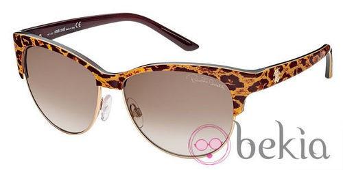 Gafas de sol de la nueva colección de Roberto Cavalli primavera/verano 2012 con estampado animal