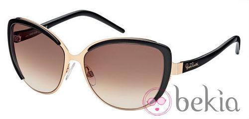 Gafas de sol de la nueva colección de Roberto Cavalli primavera/verano 2012 tonos negras
