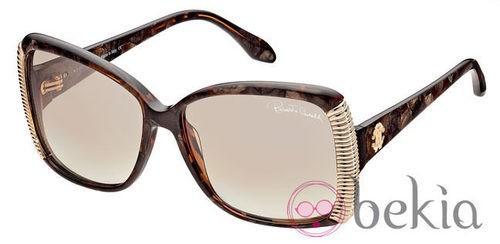 Gafas de sol de la nueva colección de Roberto Cavalli primavera/verano 2012 de ojos de gato