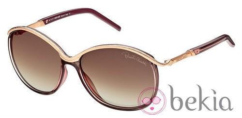 Gafas de sol de Just Cavalli primavera/verano 2012 en tonos neutros y tierra