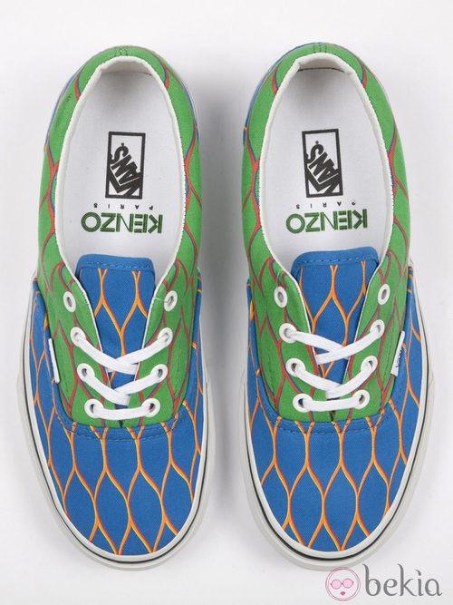 Nueva colección de zapatillas de VANS y KENZO primavera/verano 2012 de colores