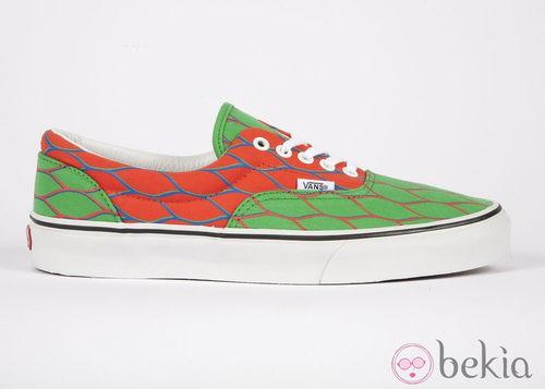 Nueva colección de zapatillas de VANS y KENZO primavera/verano 2012 en rojo y verde