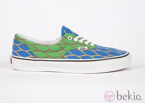 Nueva colección de zapatillas de VANS y KENZO primavera/verano 2012 en azul y verde
